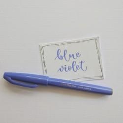 SIGN PEN BRUSH Blue Violet...