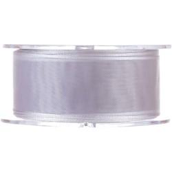 CINTA ORGANZA 25mm Plata (1...