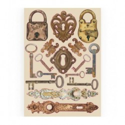 WOODEN SHAPES Look and Keys...