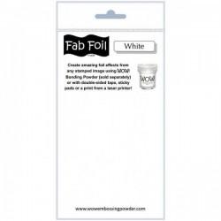 FAB FOIL White WOW!