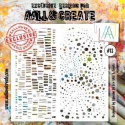 STENCIL 013 AALL & CREATE