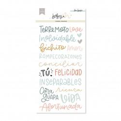 PEGATINAS Frases Baby M...